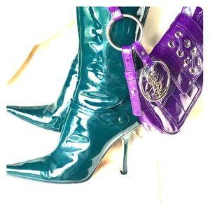 🌿Trendy Green🌿 Jimmy Choo  Stiletto Boots